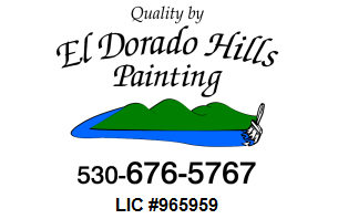 El Dorado Hills Painting. Residential, Commercial, Industrial Painter.  Interior painting, Exterior painting. Professional Painter in El Dorado Hills and the surrounding area Residential Painter El Dorado Hills Elk Grove Folsom Sacramento Auburn Lincoln Rocklin Roseville
